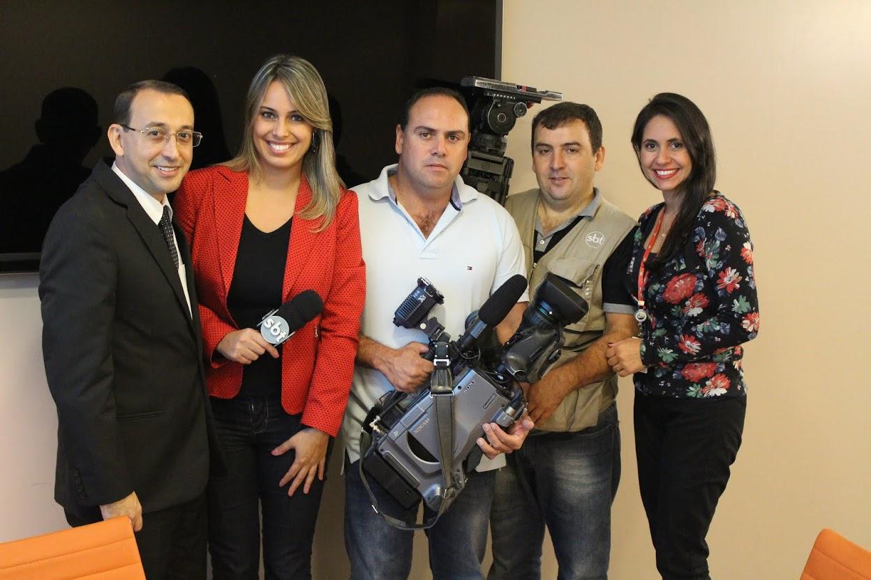 Confira a entrevista que concedi ao Jornal do SBT