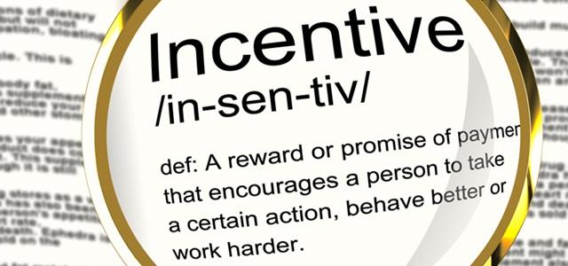 definição de incentivo