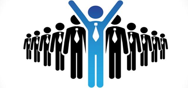 desenho representando líder e equipe