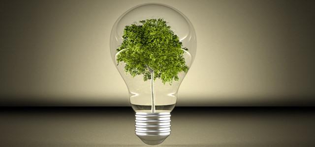 lâmpada com árvore dentro