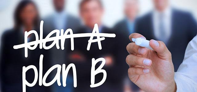 Sempre tenha um plano b jrm coaching for Plano b mobilia