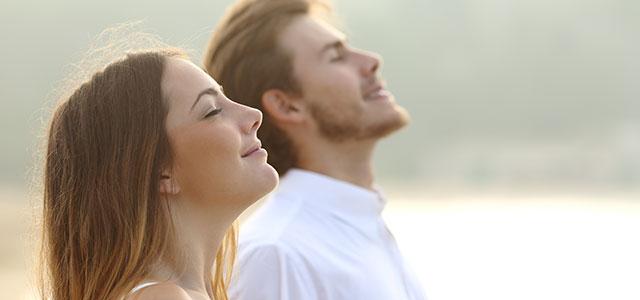 Casal em plena Tranquilidade