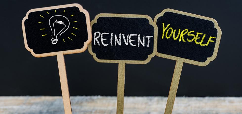 se reinventar é o caminho do sucesso