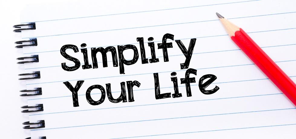 Simplifique a vida