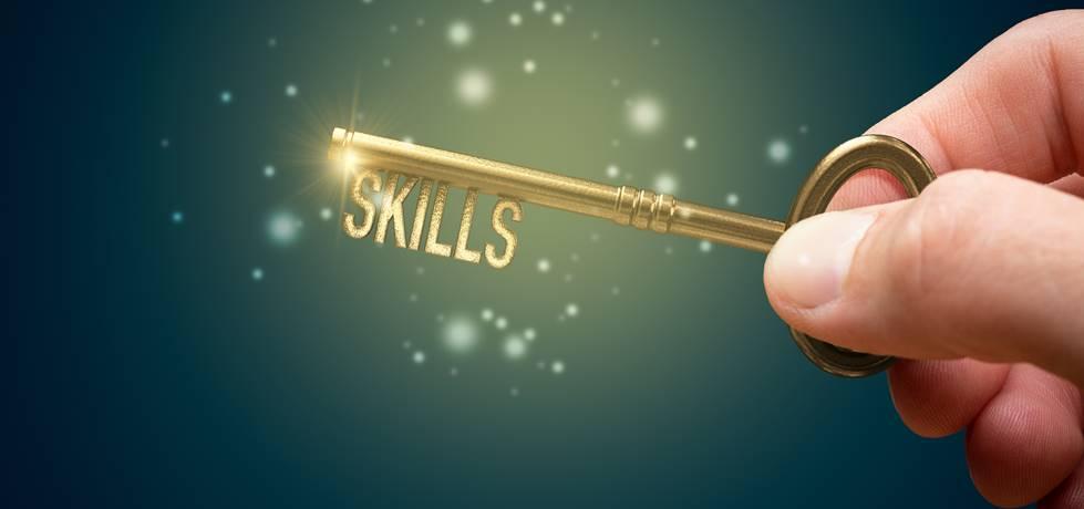 Uma chave escrito habilidades