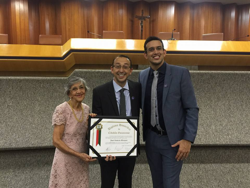 JRM recebe Título Honorífico de Cidadão Goianiense