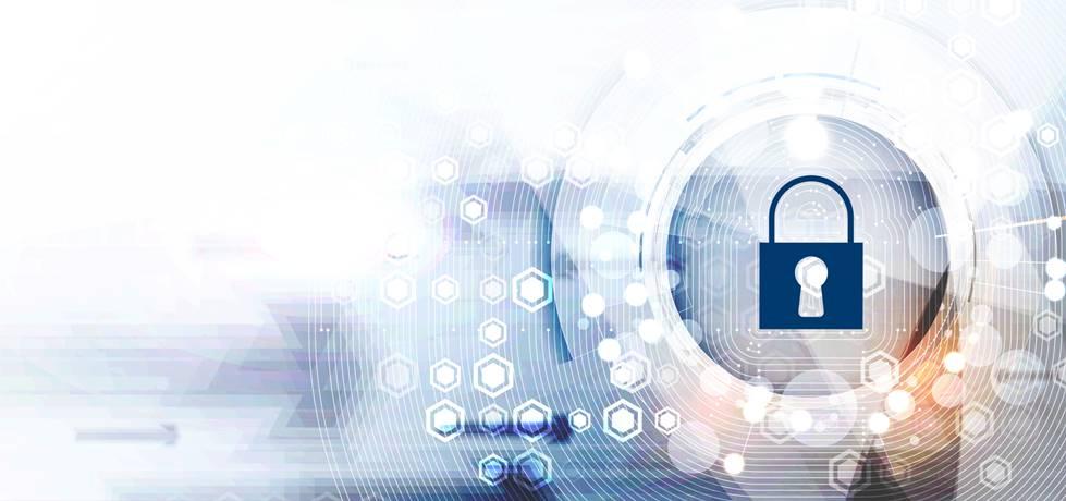 logotipo de cadeado referente a segunça tecnológica