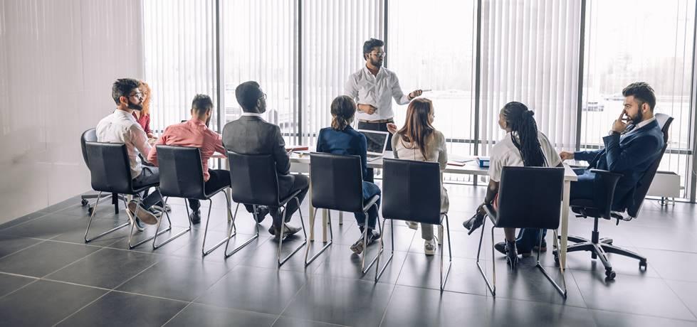 aula de mentoria para empreendedores