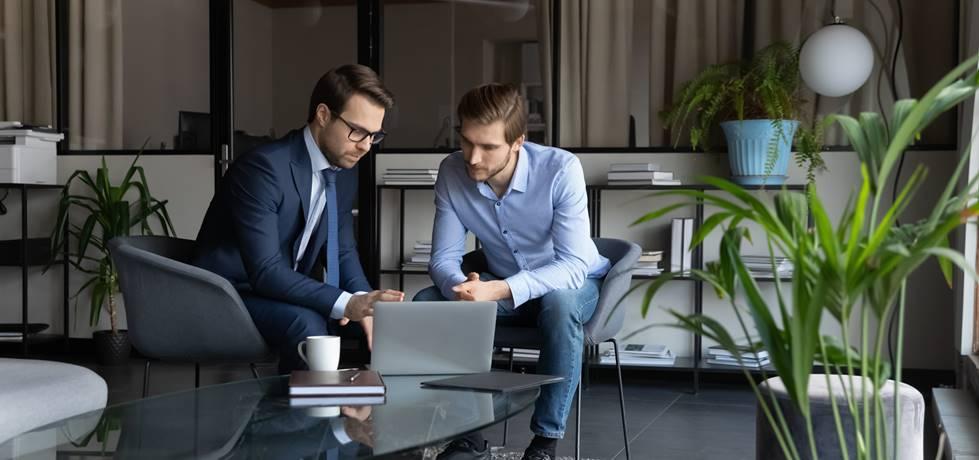 profissional em processo de mentoria